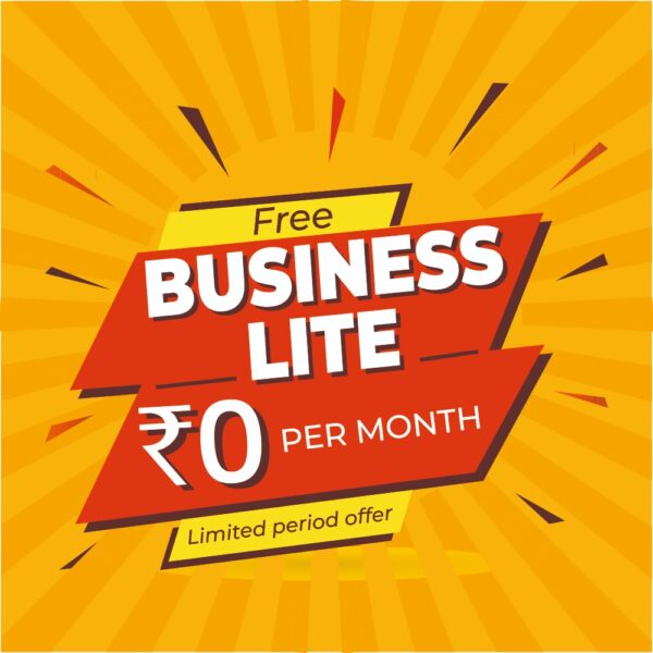 Free Business Lite – Monthly